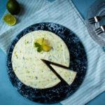 Munt-limoen cheesecake