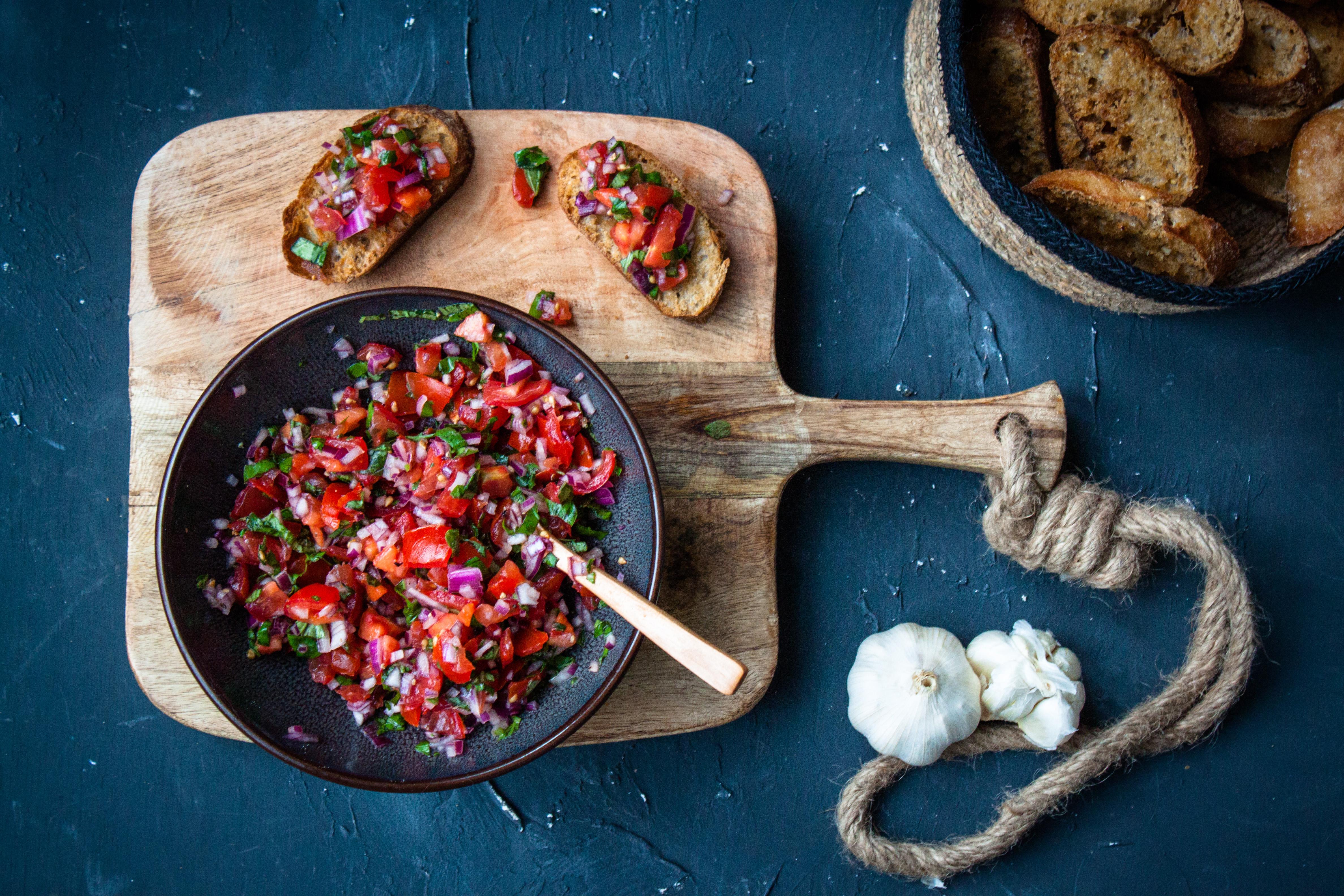 bruschetta tomaten