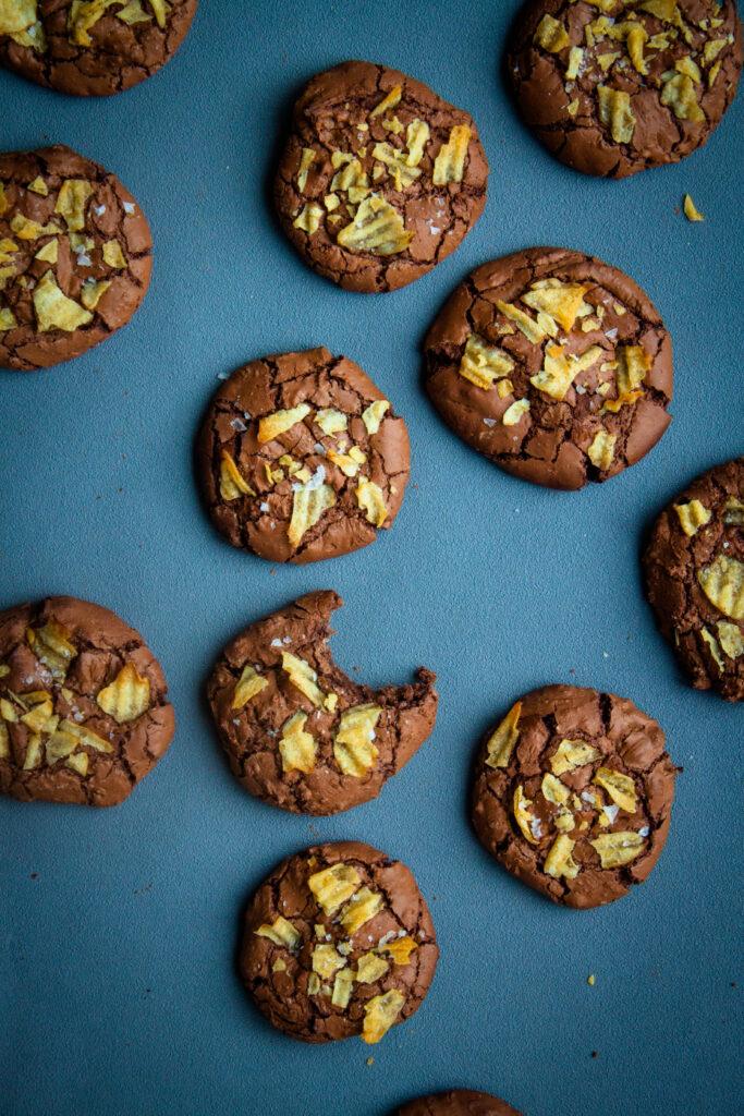 brookies chocolade koekjes met chips