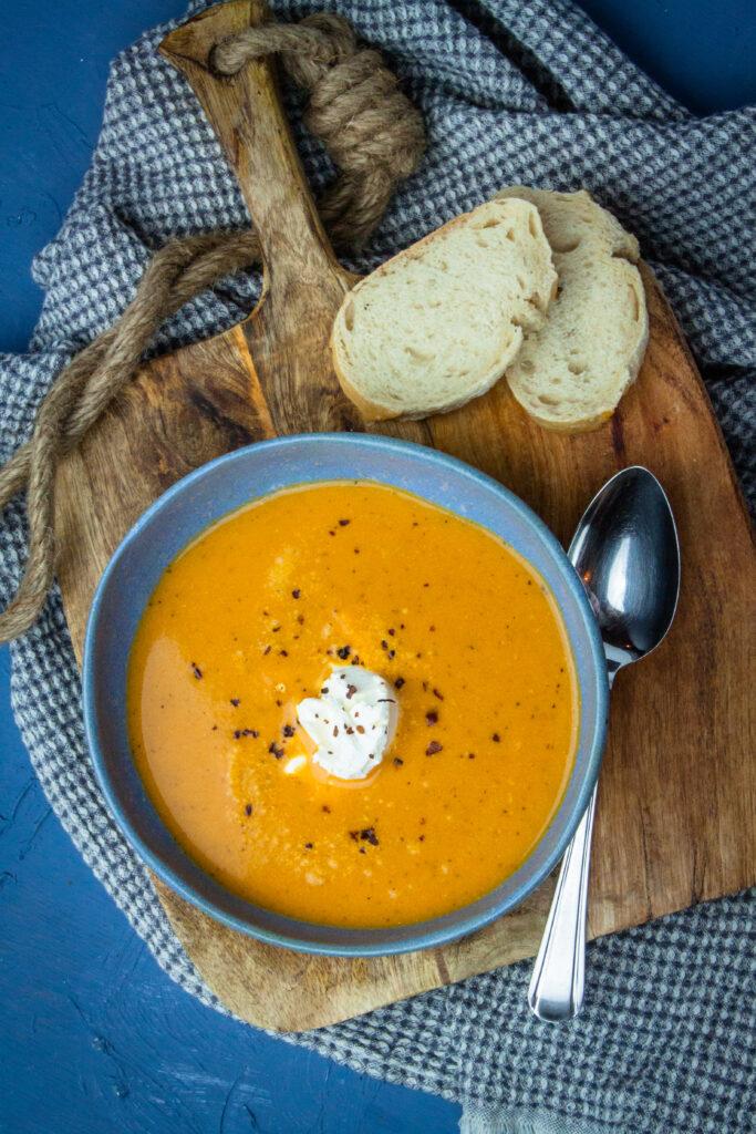 tomaat mascarpone soep