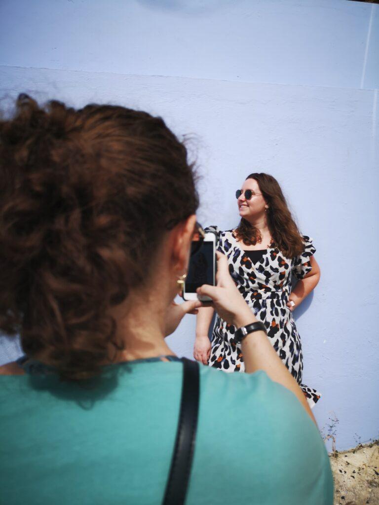 fotoshoot op Curacao