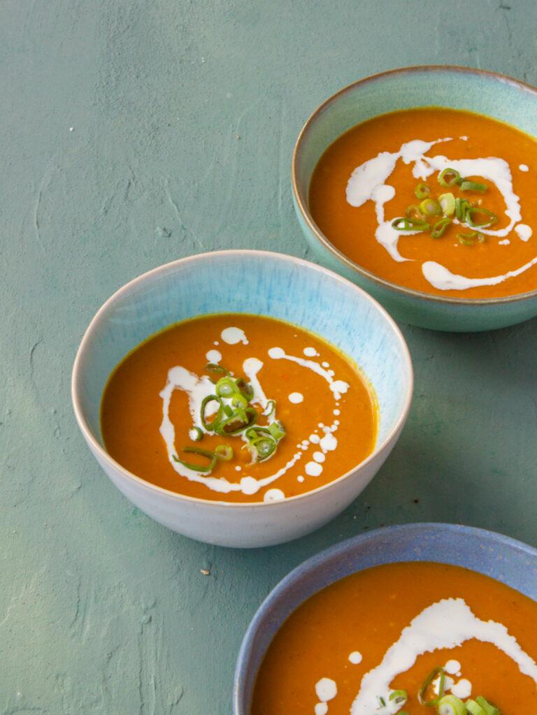 pastinaak pompoen soep met gember en vadouvan