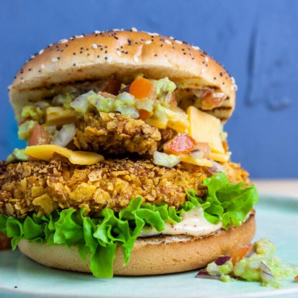 crispy kipburger