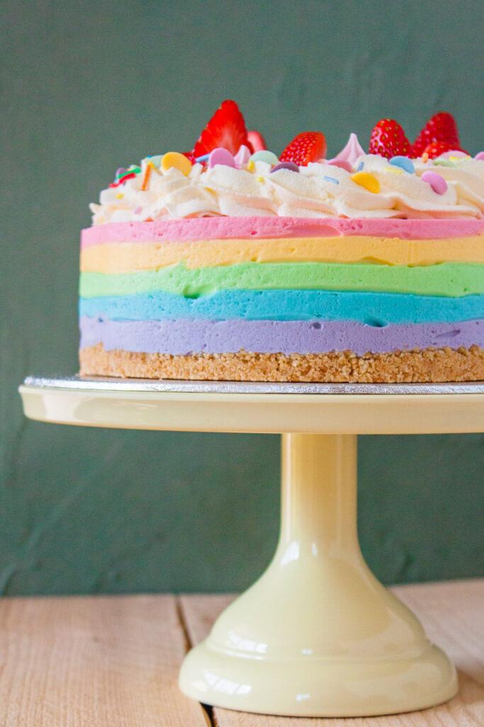 regenboog cheesecake