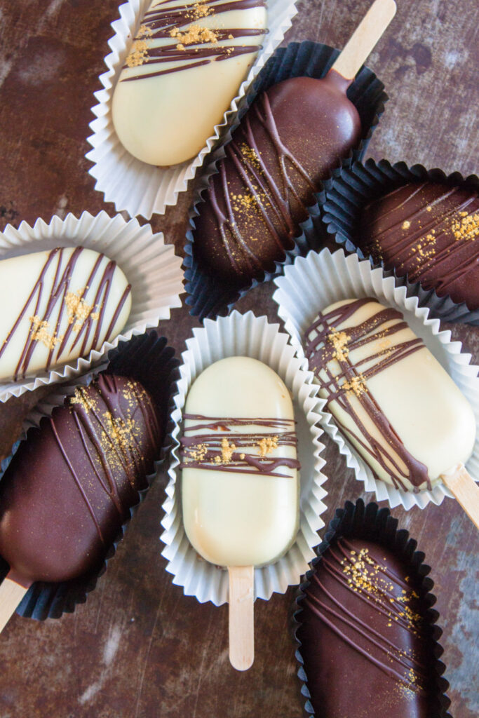 chocolate cakesicles